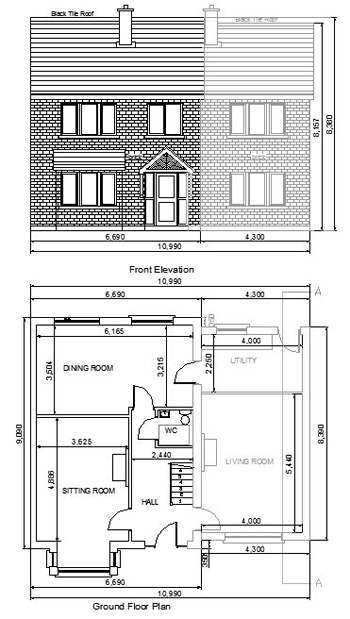 extension plans services mf kelly associates mullingar - Home Extension Designs