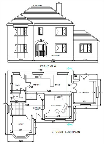 Planning Applications - House Plan 09