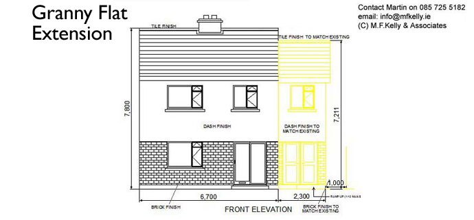 Granny Flat Extension - MF Kelly & Associates